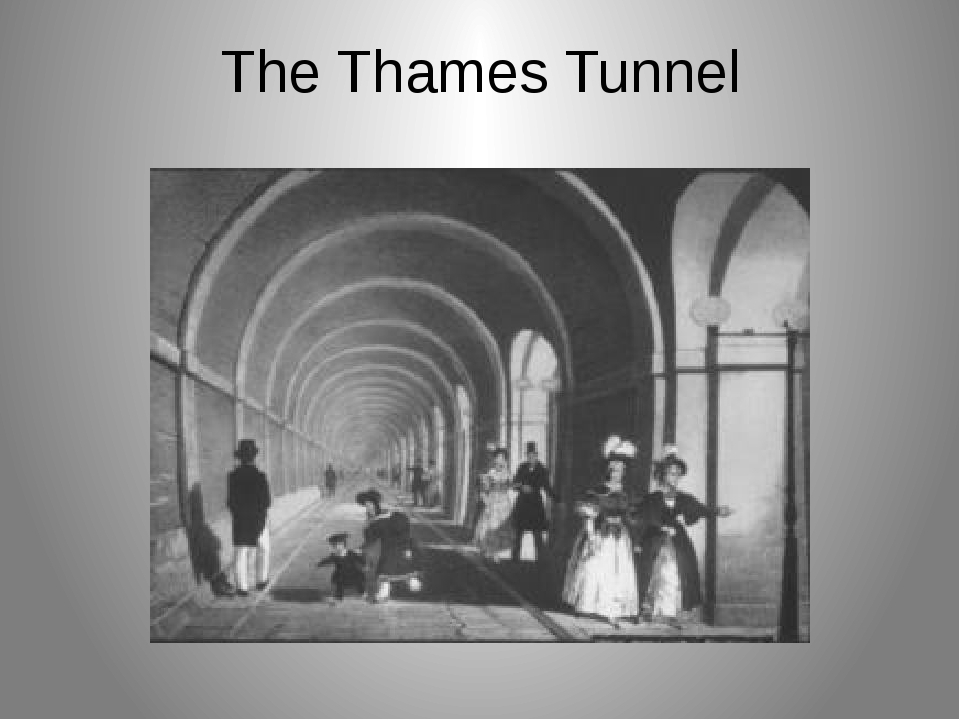 The Thames Tunnel