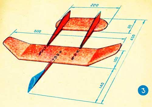 Схема самолёта из пенопласта своими руками