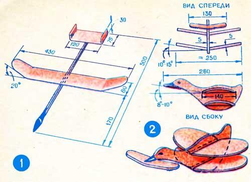 Как сделать летающий самолет из дерева своими руками 38