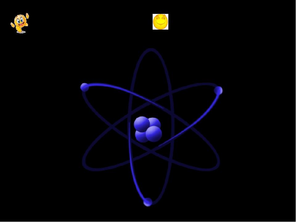 ЭЛЕКТРОН – заряженная частица АТОМ – частицы из которых Состоят все вещества