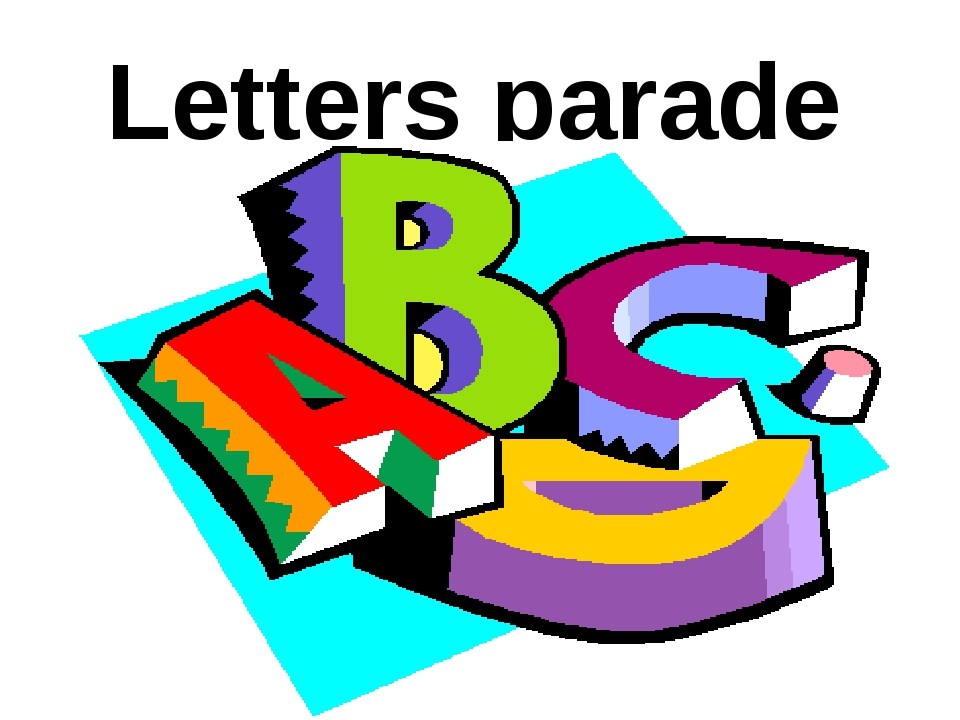 Letters parade