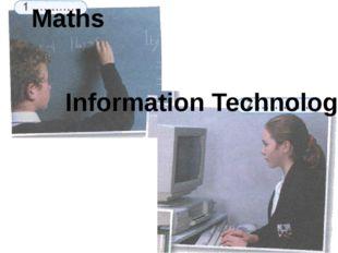 Maths Information Technology