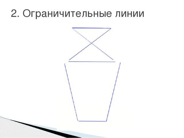 2. Ограничительные линии