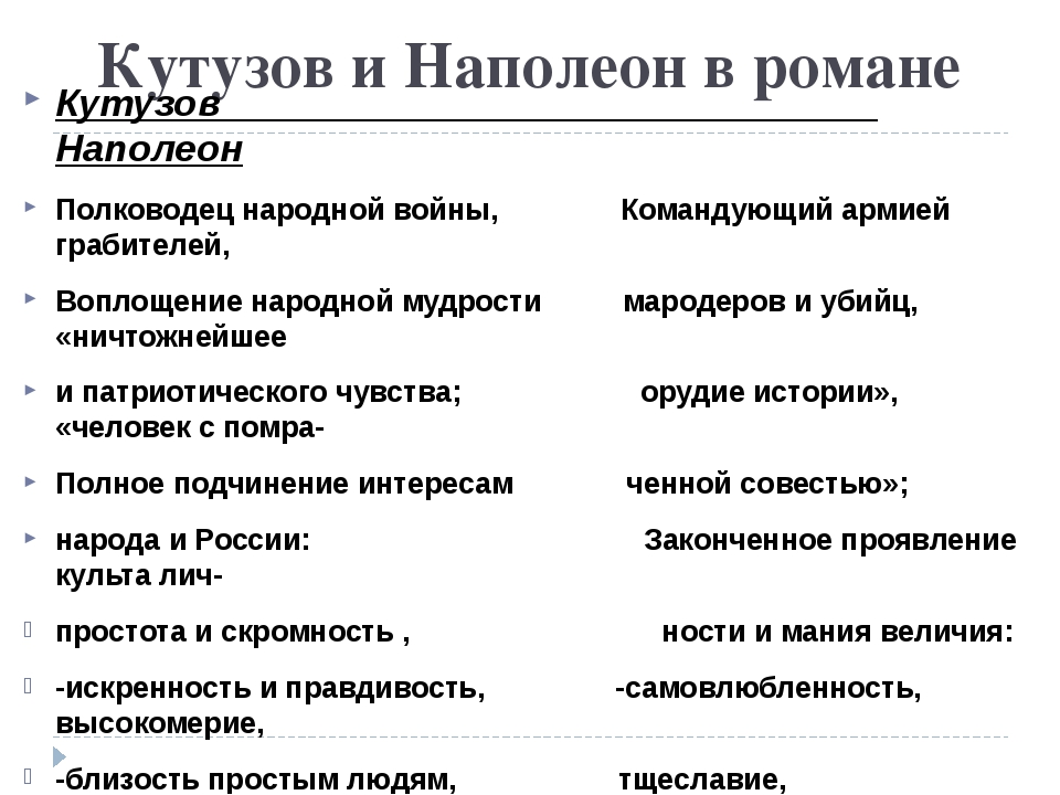Кутузов и Наполеон в романе Кутузов Наполеон Полководец народной войны, Коман...