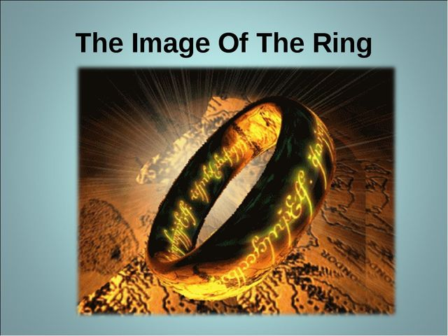 The Image Of The Ring
