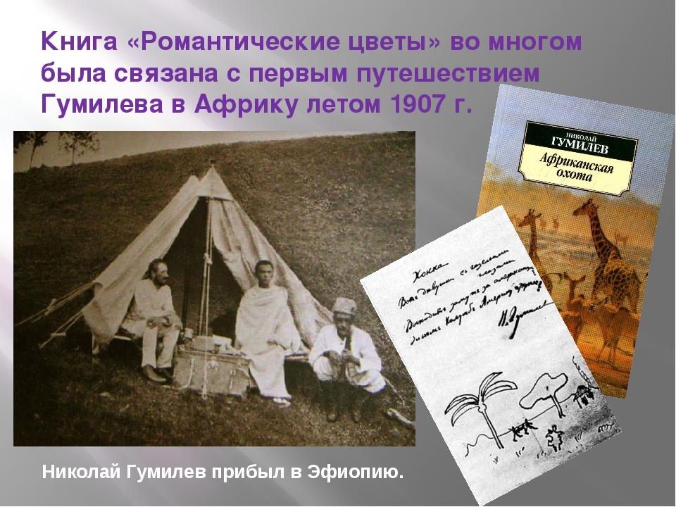 Книга «Романтические цветы» во многом была связана с первым путешествием Гуми...
