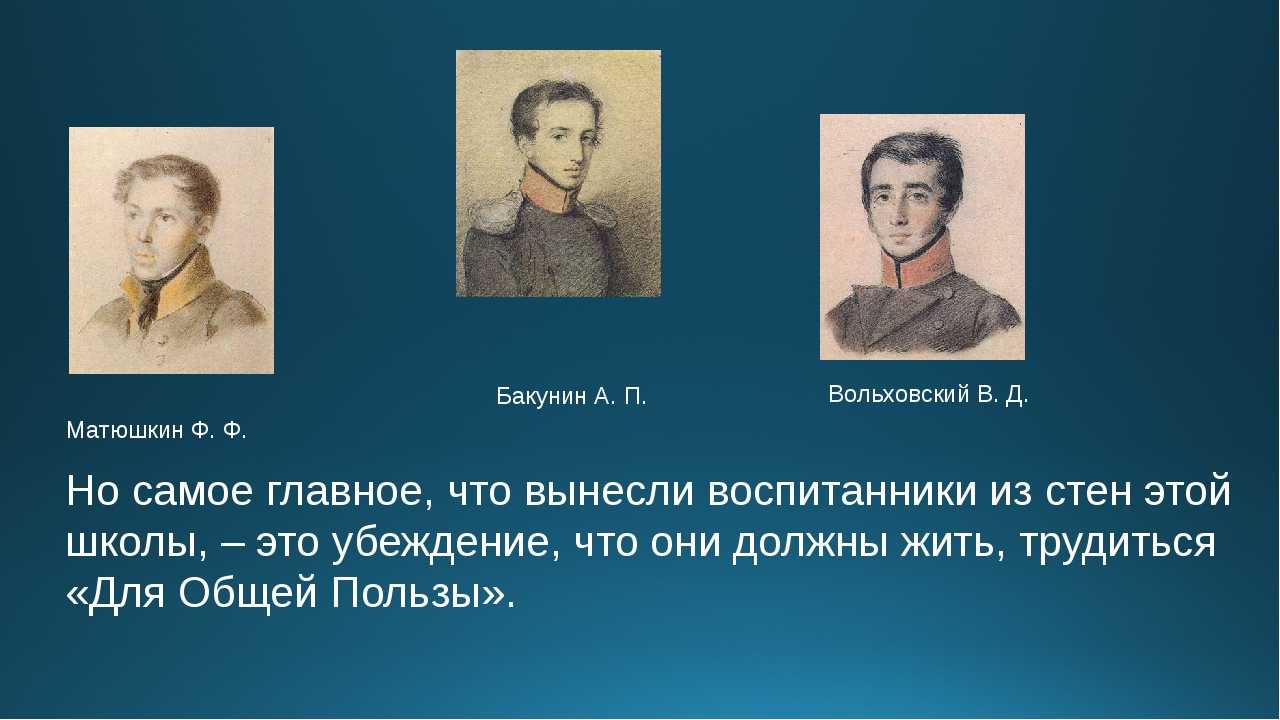 Матюшкин Ф. Ф.             ...
