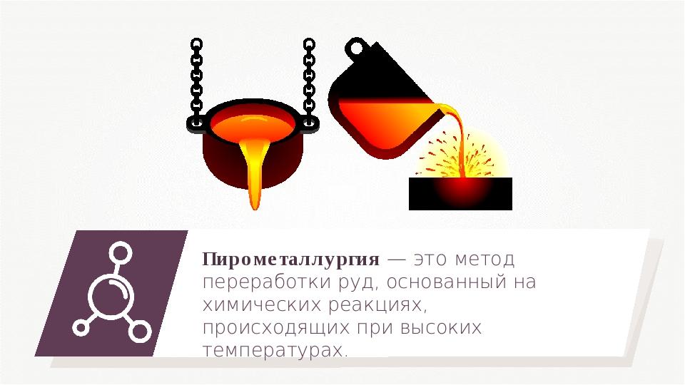 Пирометаллургия — это метод переработки руд, основанный на химических реакция...