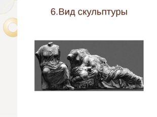 6.Вид скульптуры