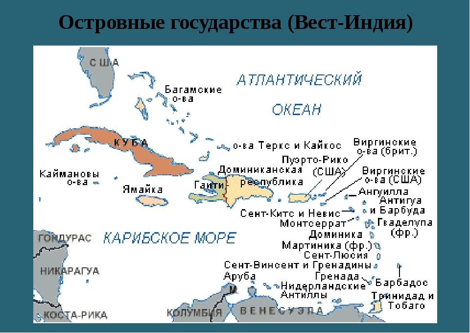 Островные государства (Вест-Индия)
