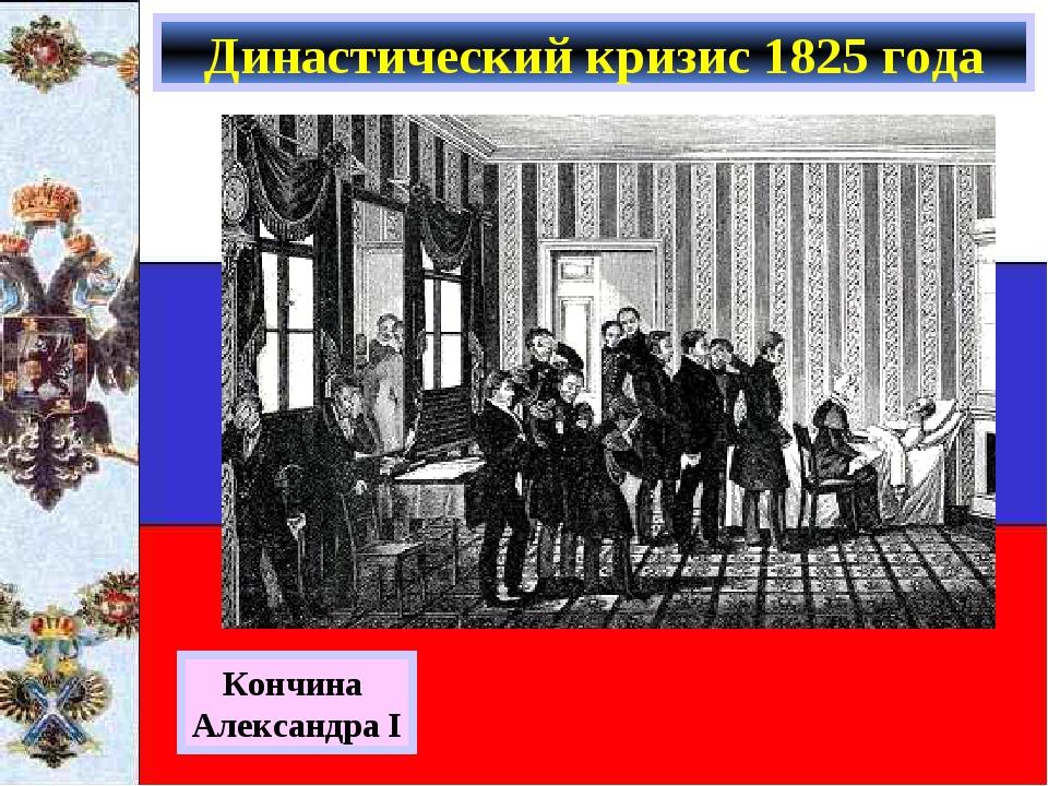 Династический кризис 1825 года Кончина Александра I