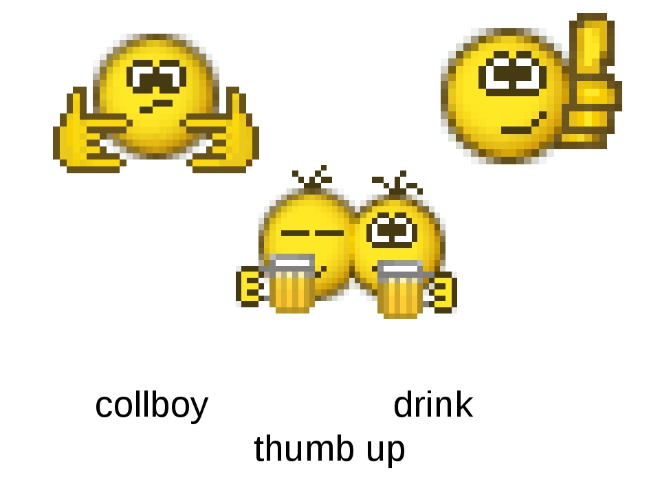 collboy drink thumb up