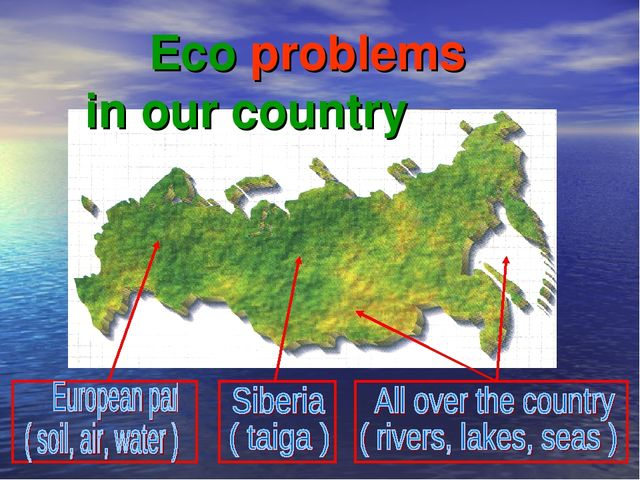 Eco problems in our country