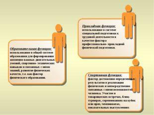 Образовательная функция: использование в общей системе образования для фор