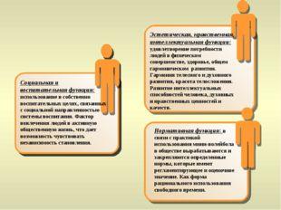 Социальная и воспитательная функция: использование в собственно воспитательны