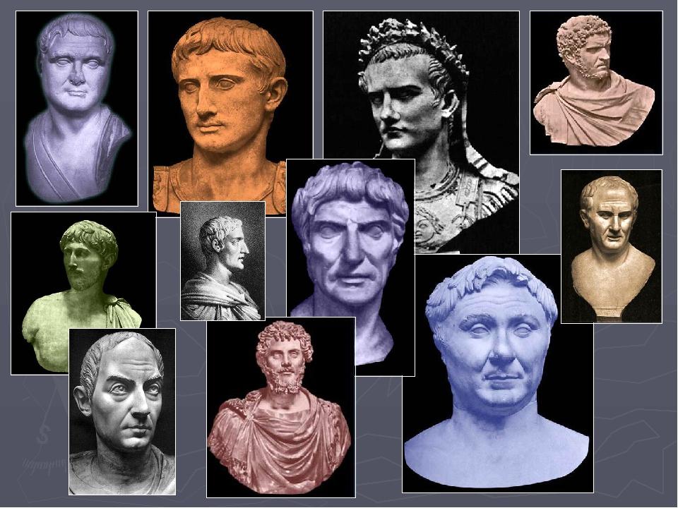 СКУЛЬПТУРНЫЙ ПОРТРЕТ в римской пластике - жанр, уже совершенно непохожий на г...