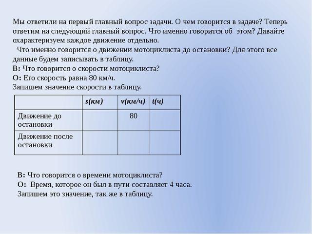 Мы ответили на первый главный вопрос задачи. О чем говорится в задаче? Теперь...