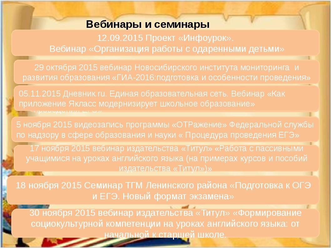 Вебинары и семинары 29 октября 2015 вебинар Новосибирского института монитори...