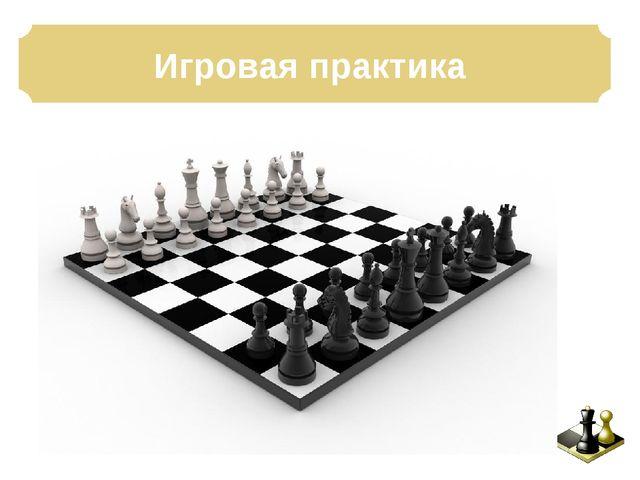 Игровая практика