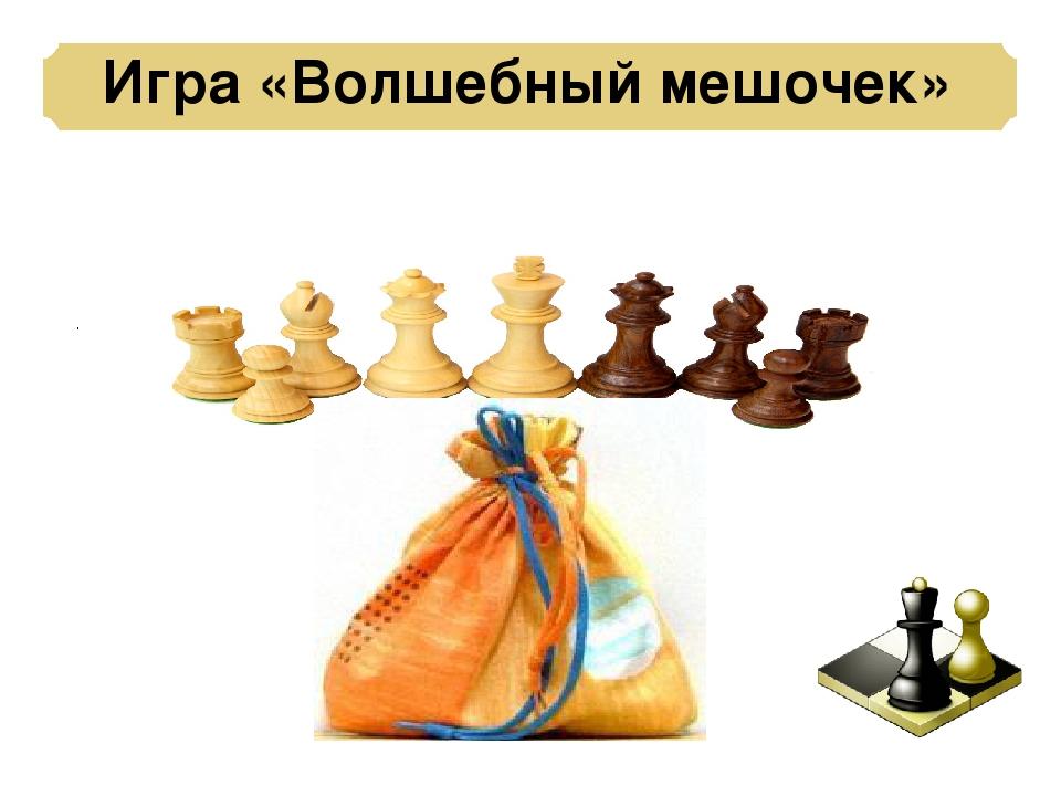 Игра «Волшебный мешочек» .