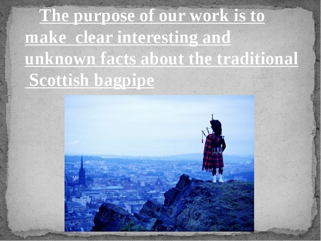 The purpose of our work is to make clear interesting and unknown facts about...