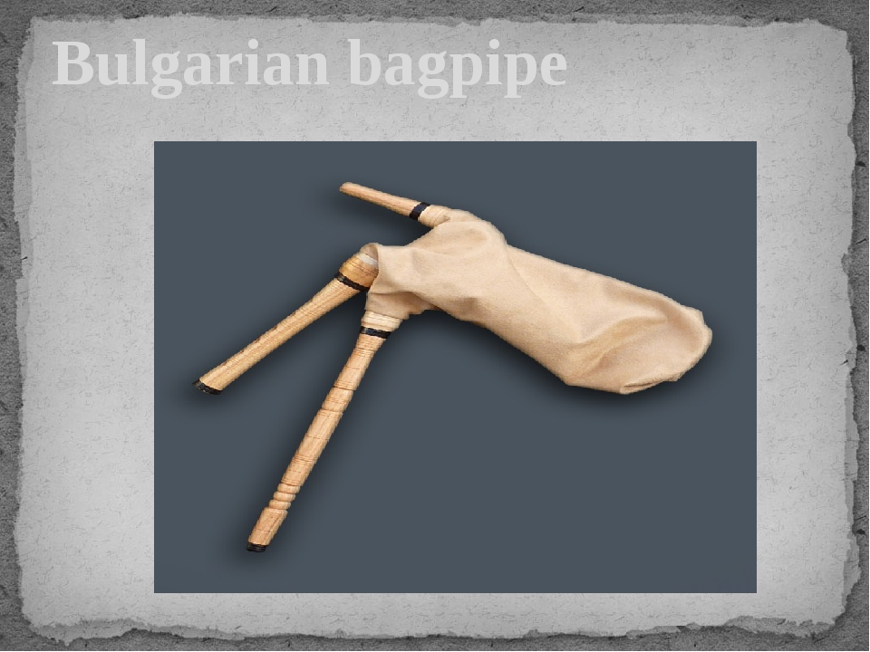 Bulgarian bagpipe