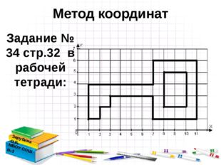 Метод координат Зарубина О.Б. МБОУ СОШ №3 Задание № 34 стр.32 в рабочей тетра