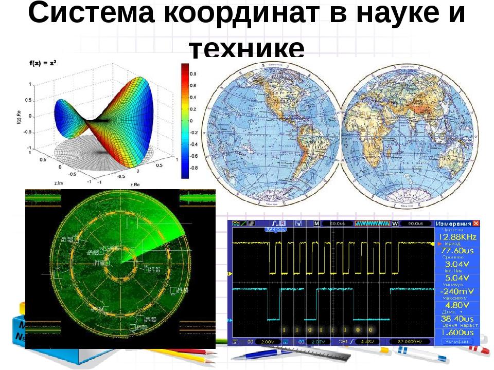 Система координат в науке и технике Зарубина О.Б. МБОУ СОШ №3