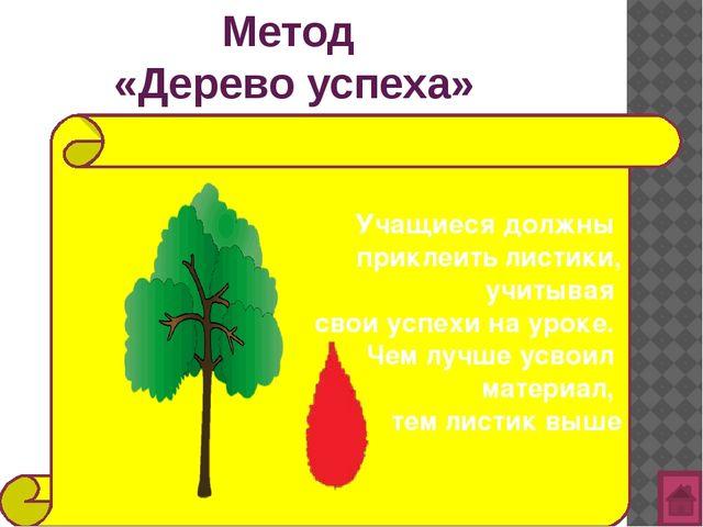 Метод  «Дерево успеха»