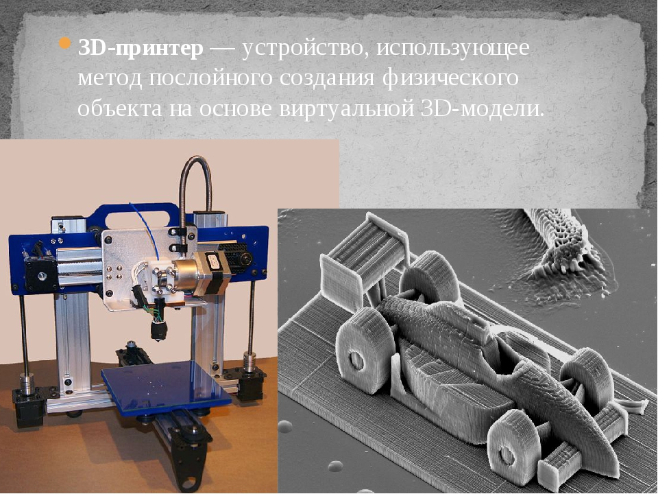 Практически все, от обуви до автомобилей и роботов, может быть воссоздано с п...