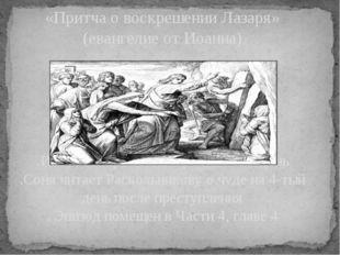 «Притча о воскрешении Лазаря» (евангелие от Иоанна) .Иисус воскресил Лазаря н