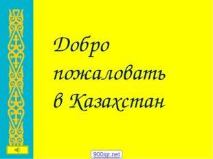 Добро пожаловать в Казахстан 900igr.net