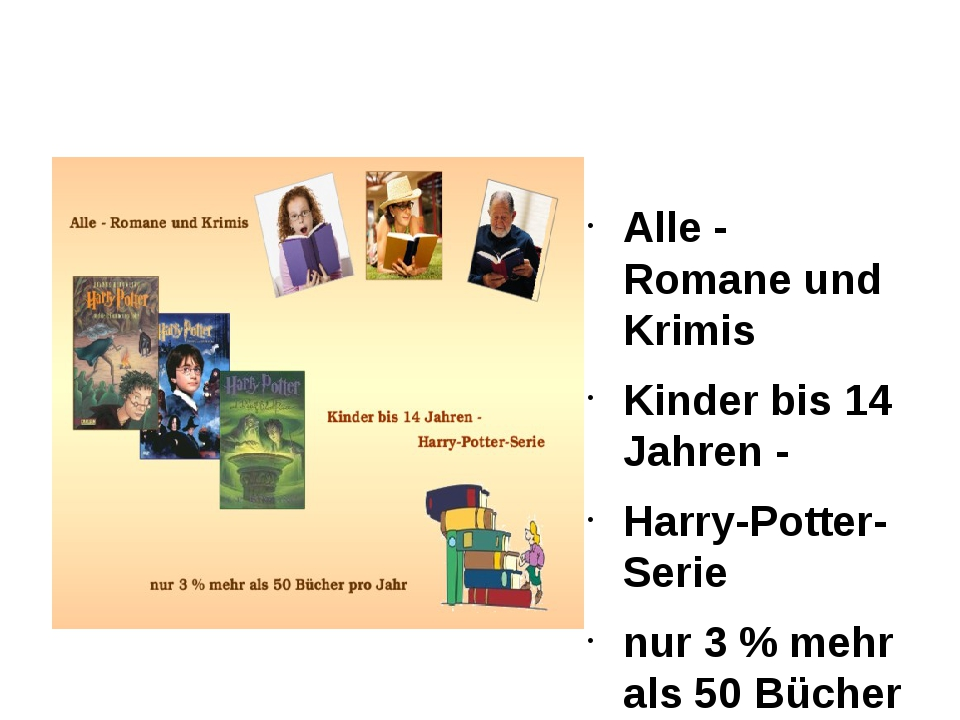 Alle - Romane und Krimis Kinder bis 14 Jahren - Harry-Potter-Serie nur 3 % me...