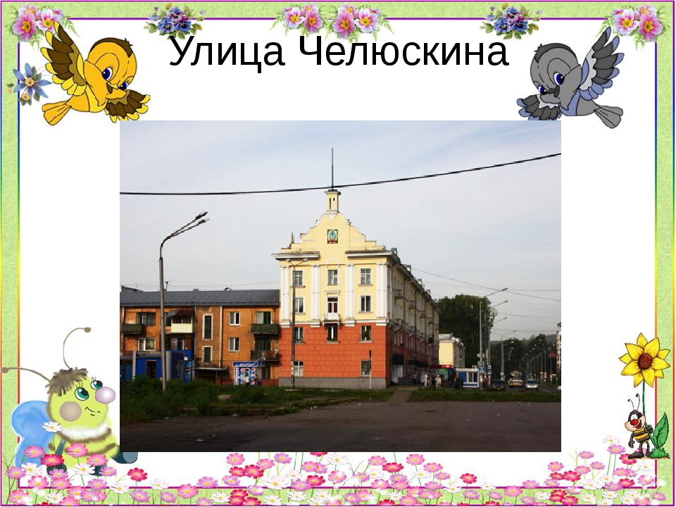 Улица Челюскина