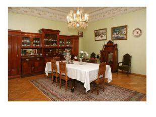 Столовая в доме Шаляпина.