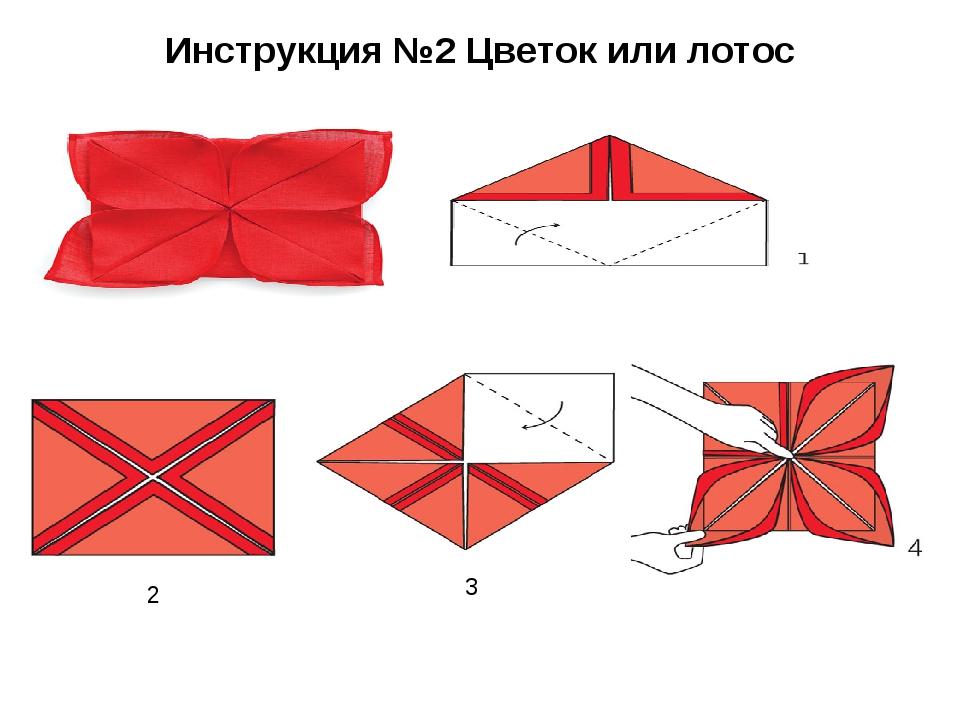 Инструкция №2 Цветок или лотос 2 3