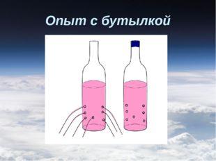 Опыт с бутылкой