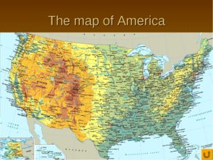 The map of America