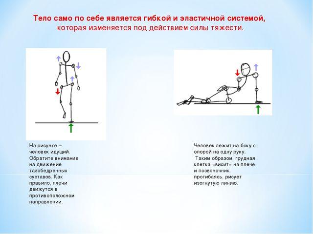 Тело само по себе является гибкой и эластичной системой, которая изменяется...