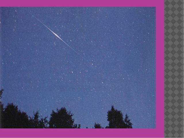 После наступления ночи и до восхода солнца некоторые из пролетающих спутнико...