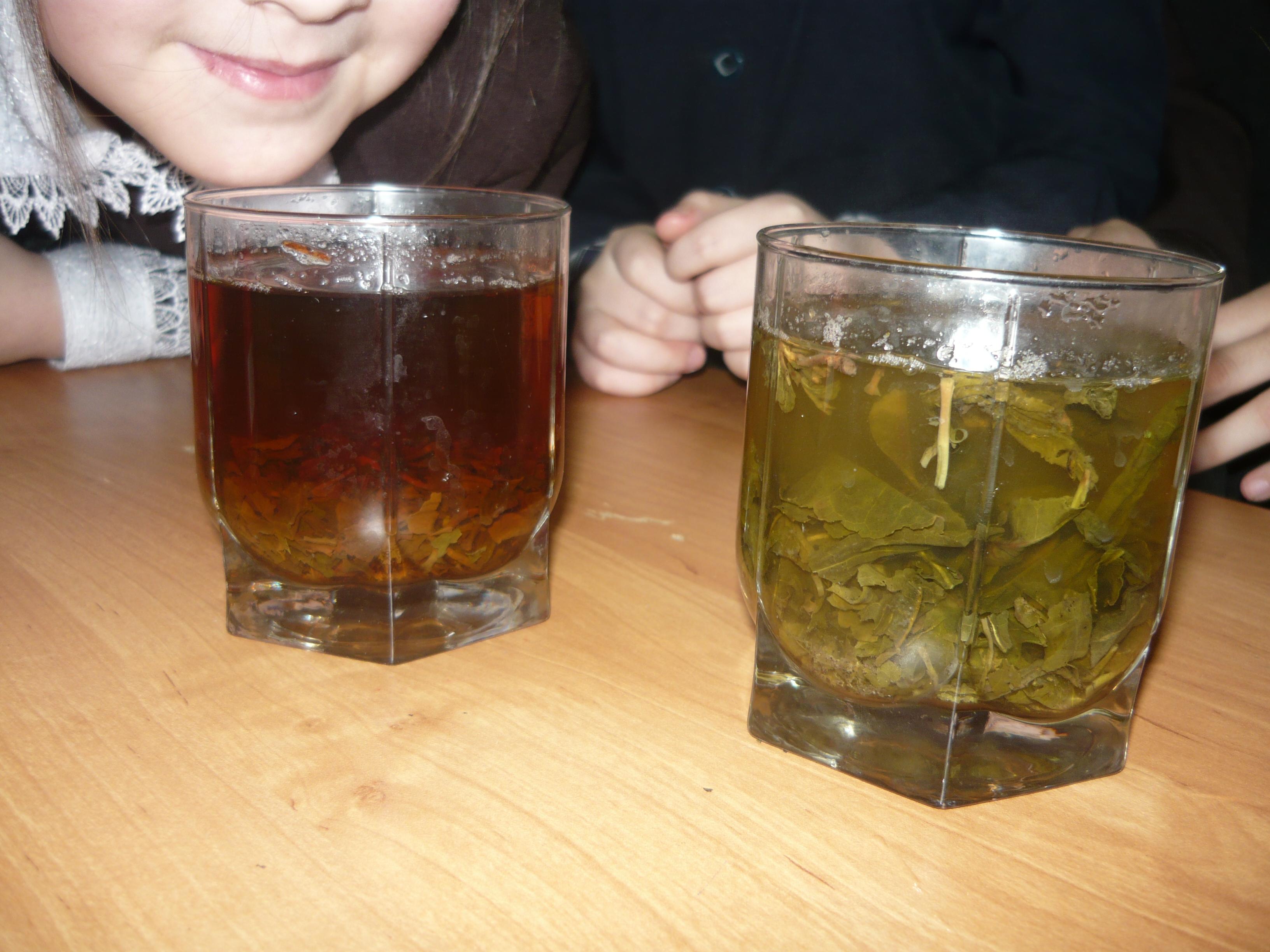 Почему чай заваривают в горячей воде а не в холодной