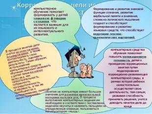 В процессе занятий дети учатся целеполаганию, планированию, а также контролир