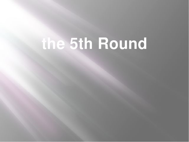 the 5th Round