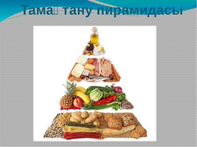 Тамақтану пирамидасы