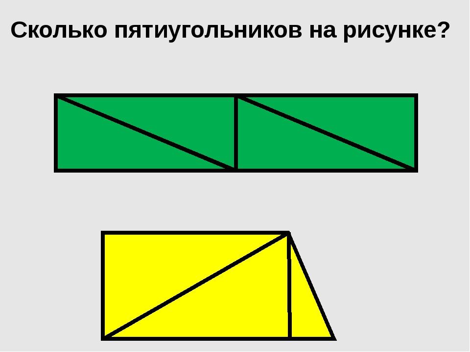Сколько пятиугольников на рисунке?