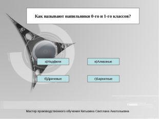 Тетерева б)Драчевые г)Бархатные в)Алмазные Как называют напильники 0-го и 1-г