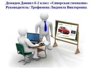 Демидов Даниил 6-2 класс «Сиверская гимназия» Руководитель: Трофимова Людмила