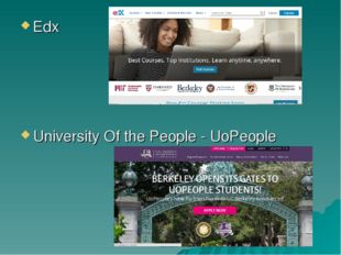 Еdx University Of the People - UoPeople