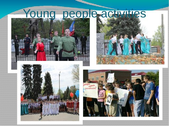 Young people activities