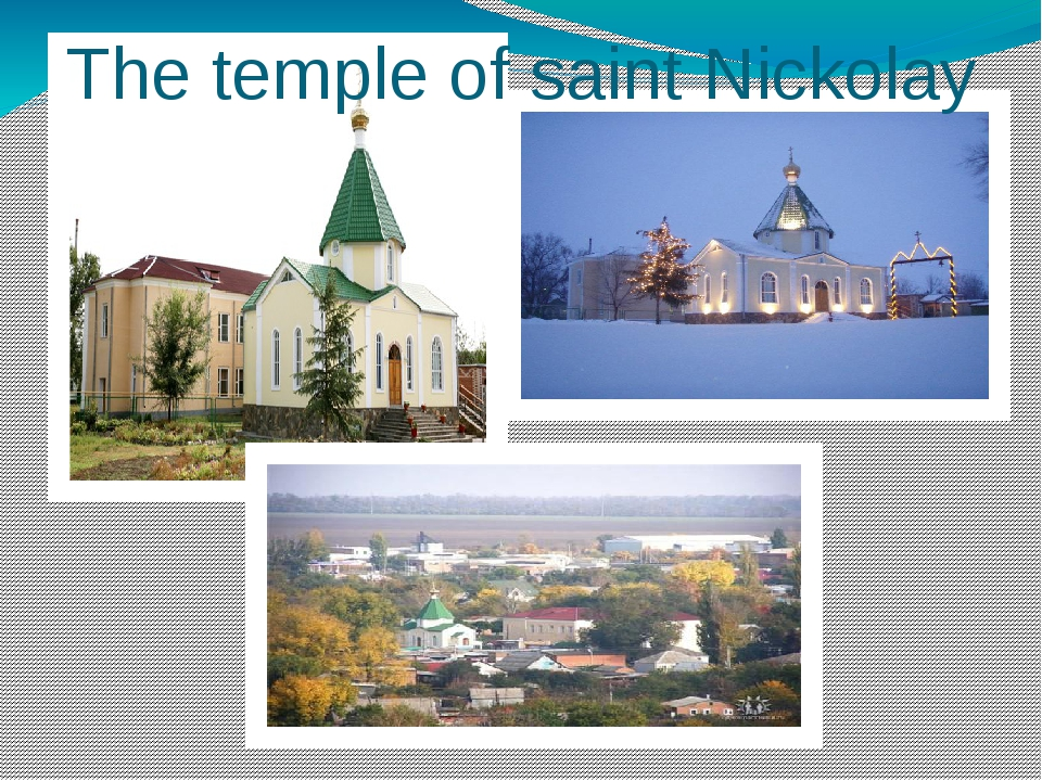 The temple of saint Nickolay